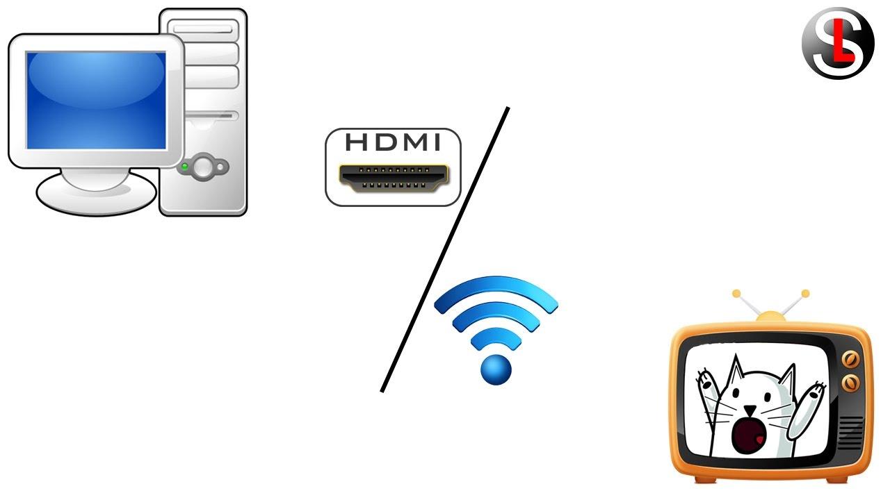 Как вывести изображение с компьютера или ноутбука на телевизор. II СПОСОБА