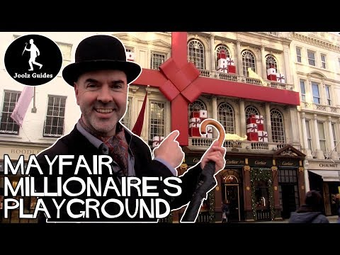 Tour of London's Mayfair