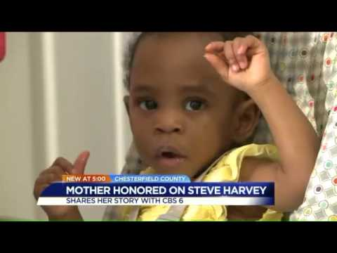 Local mother of twins honored on Steve Harvey