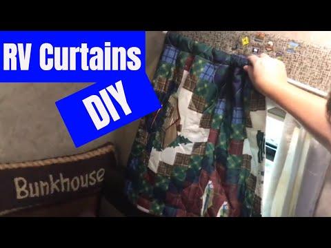 DIY Curtains for our Jayco Hummingbird 16FD
