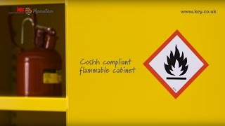 Flammable Material Storage Cabinet - COSHH (Features & Benefits)