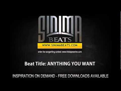 ANYTHING YOU WANT Instrumental (Smooth RnB Slow Jam style Beat) Sinima Beats