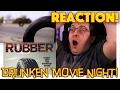 REACTION! Rubber - Drunken Movie Night Solo - Killer Tire Art Film
