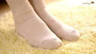 キャメルぽっかぽか毛布靴下の詳細 □キャメル屋 http://www.camelya.jp/...