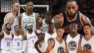 Best NBA Big Three Right Now?