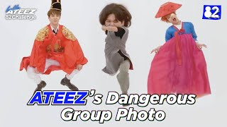 ATEEZ Risks It All For a Group Photo | 82Challenge EP.5