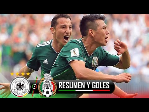 ALEMANIA VS MEXICO 0-1 / TV AZTECA / MUNDIAL RUSIA 2018 / RESUMEN / HIGHLIGHTS
