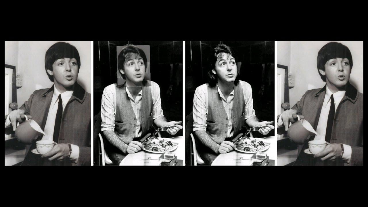 Paul McCartney Photo Comparison 1964