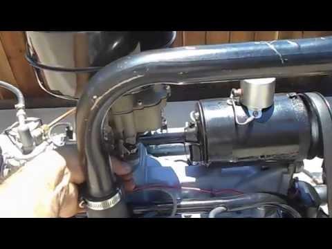1938 Ford Flathead 221 Rebuilt NOS Engine Running Stock
