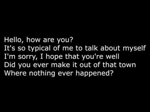 Adele - Hello ( lyrics on HD )