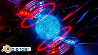 Blender - Sci-fi Hologram Material in Blender 2.8 Eevee