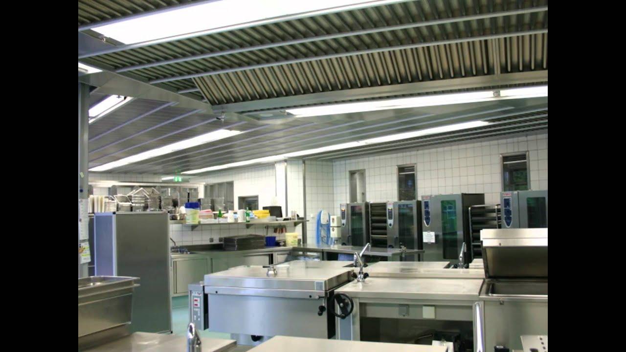 Controsoffitti filtranti gif active vent eurotecno per for Cucine industriali