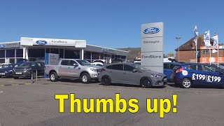 Ford Focus RS : day 16 : the Ford dealership experience