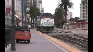 Railfanning Downtown San Diego
