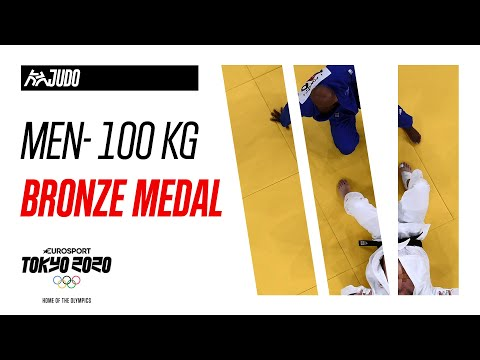 CANADA vs PORTUGAL | JUDO Men's 100 kg | Bronze Medal Highlights | Olympic Games - Tokyo 2020