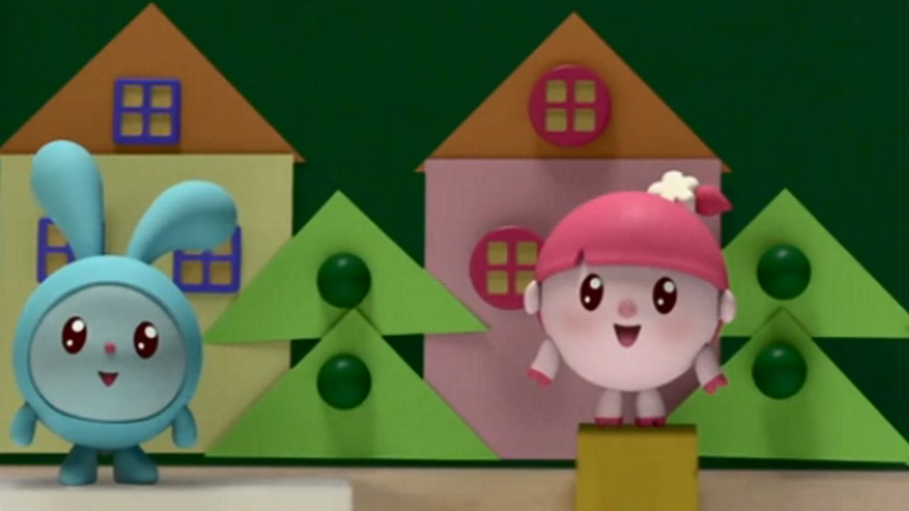 9e78738606f Малышарики - Домики - серия 14 - обучающие мультфильмы для малышей 0-4 -  YouTube