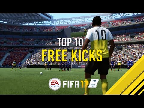 Make FIFA 17 | MY TOP 10 FREE KICKS Pics