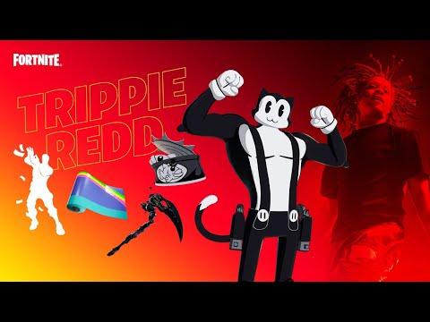 New TRIPPIE REDD Pack!! Winning in Duos w/ My Girlfriend! (Fortnite)
