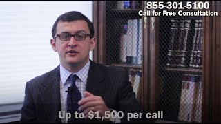 Glass Mountain Capital Harassment? | Sue and Get Up to $1,500 Per Call | 855-301-5100