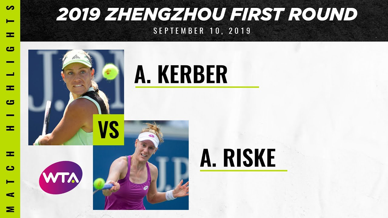 Angelique Kerber vs. Alison Riske | 2019 Zhengzhou Open First Round | WTA Highlights