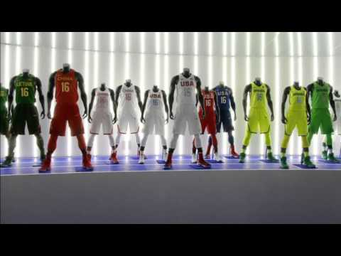 Nike unveils new uniforms ahead of 2016 Olympics 17 March 2016