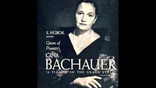 Gina Bachauer plays Liszt Rapsodie Espagnole (arr. Busoni)