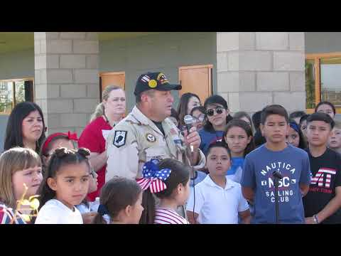 9/11 Event Cross Elementary School in Imperial CA