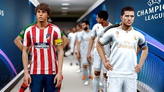 Real Madrid vs Atletico Madrid - Potential Lineup 2019/20 ft Pogba ,Hazard ,Felix