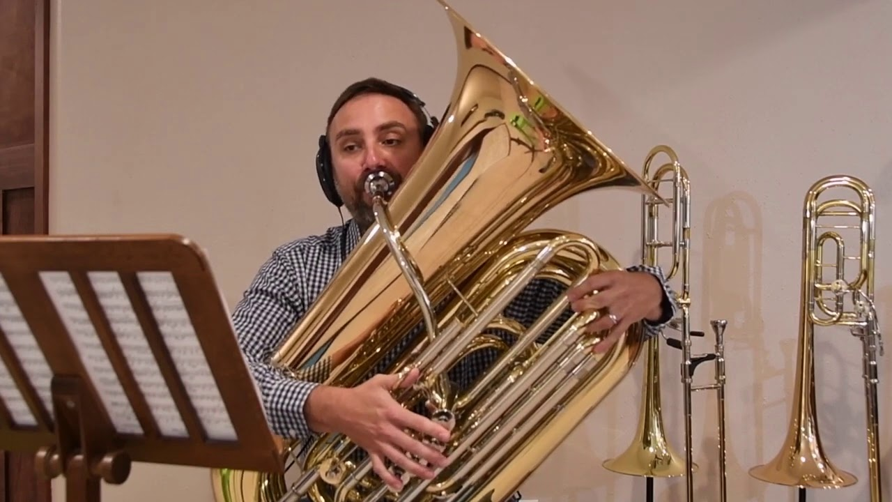Concerto for Contrabass Trombone with Digital Accompaniment.