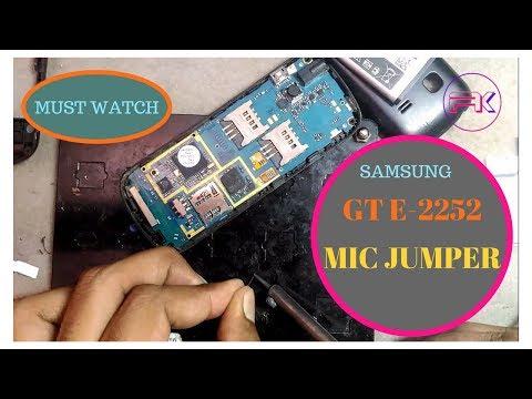 Samsung gt e2252 mic jumper solution || by CellPhone Guru