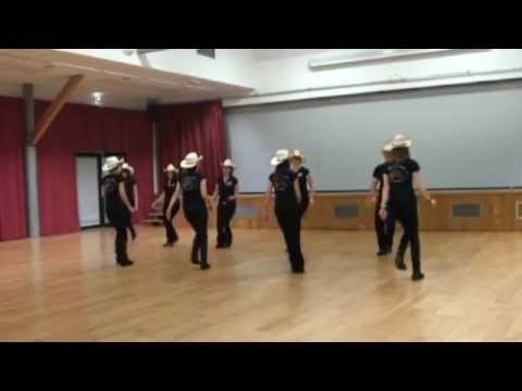 8 BALL Line Dance (Demo & Teach In French)