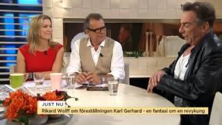 Fredagsgäst: Rikard Wolff aktuell med ny föreställning - Nyhetsmorgon (TV4)
