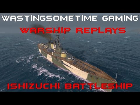 Ishizuchi Battleship Replay: Should you buy It? World of Warships