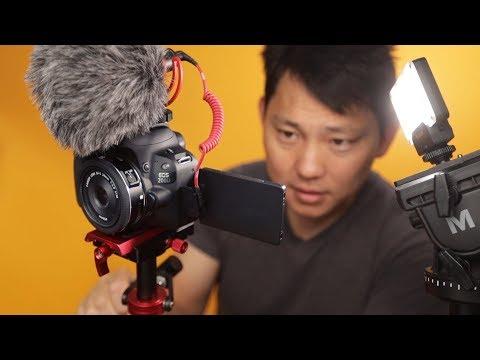Complete Cinematic Camera Setup For Under $1,000??