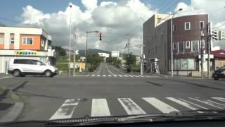 北海道道264号七飯療養所線:七飯駅~函館新道の側道交点[七飯町]