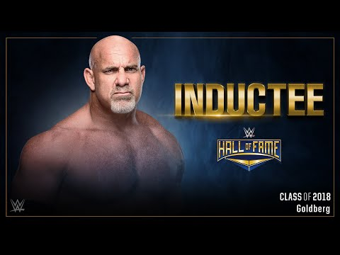 Goldberg to enter WWE Hall of Fame