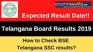 How to Check Telangana SSC Result 2019 | BSE Telangana SSC results