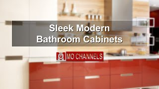 Sleek Modern Bathroom Cabinets