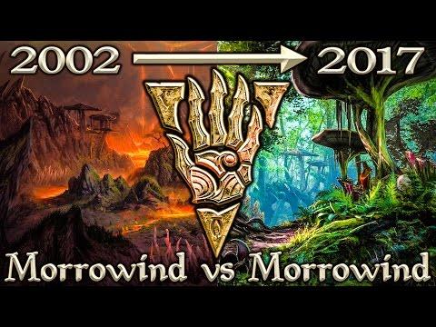 Morrowind Vs Morrowind Eso Side By Side Comparison