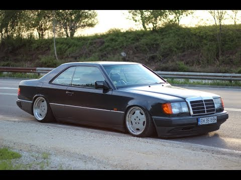 Tuning Mercedes W124 Coupe #5 - YouTube