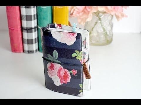 Pocket Size Traveler's notebook-My new wallet