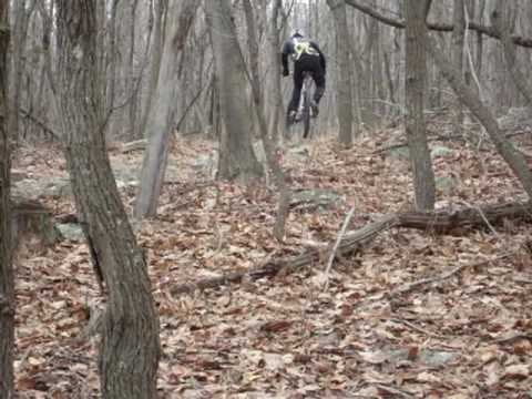 Riding the Shed: Mountain Biking at Gambril State Park