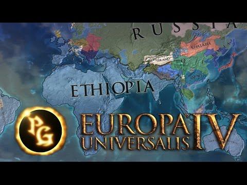 EU4 Timelapse - The Eternal Empire of Ethiopia (1444 - 1821)