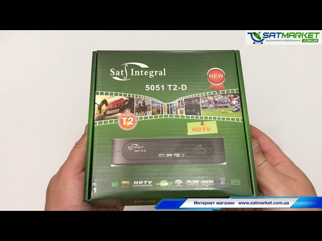 Видео обзор Sat-Integral 5051 T2-D