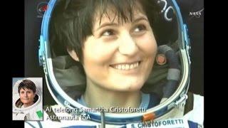 Spazio, Samantha Cristoforetti: passerò le vacanze in Italia