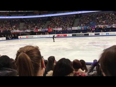 宇野昌磨 Shoma Uno Helsinki Worlds 2017 Free Skating 1/4/2017