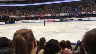 Shoma Uno's free skating at Helsinki Worlds 2017!!