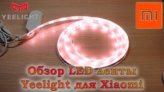 Обзор светодиодной ленты Yeelight для умного дома Xiaomi