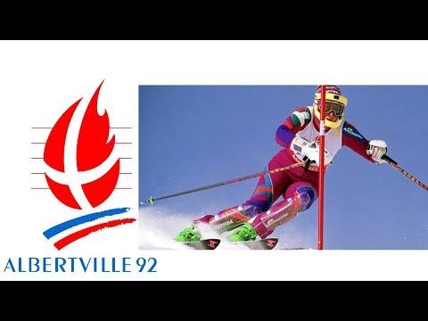1992 Winter Olympics - Women's Slalom