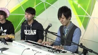 3doors are VocalケビンGuitar永野孝Keyboard上野紘史 今回はギターの永...